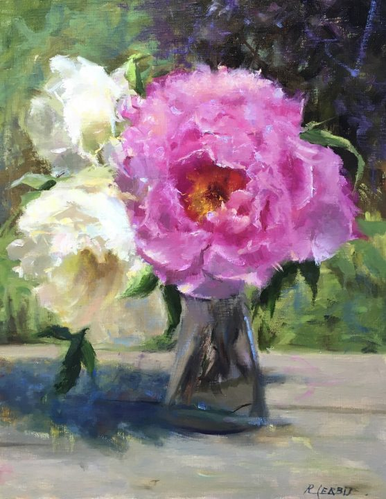 OUTSIDE PEONIES